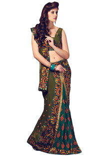 New Indian Designer Fancy Look Bollywood Saree